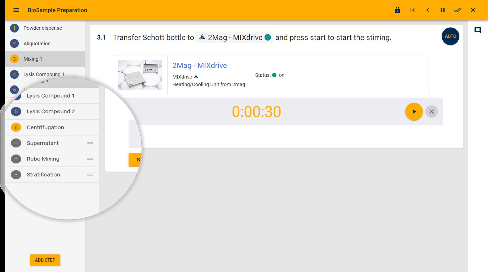 Laboperator Screenshot Workflows
